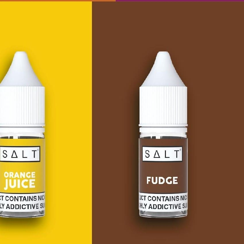 Fudge eliquid by Salt is a confectionary blend with a distinct buttery taste. A smooth and sweet fudge 🍬, featuring toffee notes, is conistent throughout for a simple yet bold eliquid.  Start the morning off right with Orange Juice Nic Salt by SALT 🍊; a smooth nic salt juice that tastes just like freshly squeezed orange juice only with a smooth and satisfying nic hit.  𝘾𝙤𝙣𝙩𝙖𝙘𝙩 𝙪𝙨 𝙩𝙤𝙙𝙖𝙮 𝙩𝙤 𝙨𝙩𝙤𝙘𝙠 𝙩𝙝𝙞𝙨 𝙥𝙧𝙚𝙢𝙞𝙪𝙢 𝙣𝙞𝙘 𝙨𝙖𝙡𝙩 𝙧𝙖𝙣𝙜𝙚 🇿🇦 𝐹𝑟𝑜𝑠𝑡𝑒𝑑 𝑆𝑚𝑜𝑘𝑒 𝑖𝑠 𝑆𝐴'𝑠 𝑃𝑟𝑒𝑚𝑖𝑢𝑚 𝑉𝑎𝑝𝑖𝑛𝑔 𝐷𝑖𝑠𝑡𝑟𝑖𝑏𝑢𝑡𝑜𝑟 𝑠𝑒𝑟𝑣𝑖𝑛𝑔 𝑜𝑣𝑒𝑟 100 𝑠𝑡𝑜𝑟𝑒𝑠 𝑎𝑐𝑟𝑜𝑠𝑠 𝐴𝑓𝑟𝑖𝑐𝑎 🌍