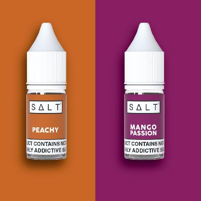 Peachy 🍑 e-liquid by Salt is a stone fruit blend featuring a creamy backdrop. A combination of smooth peach and tart apricot is accentuated by a light cream for a blissful vape experience. . A twofold burst of tropical 🍹 flavour, SALT Mango Passion combines juicy mango with sweet passion fruit for an exotic vape that's perfect for all-day vaping. . . . 𝘾𝙤𝙣𝙩𝙖𝙘𝙩 𝙪𝙨 𝙩𝙤𝙙𝙖𝙮 𝙩𝙤 𝙨𝙩𝙤𝙘𝙠 𝙩𝙝𝙞𝙨 𝙥𝙧𝙚𝙢𝙞𝙪𝙢 𝙣𝙞𝙘 𝙨𝙖𝙡𝙩 𝙧𝙖𝙣𝙜𝙚 🇿🇦 . 𝐹𝑟𝑜𝑠𝑡𝑒𝑑 𝑆𝑚𝑜𝑘𝑒 𝑖𝑠 𝑆𝐴'𝑠 𝑃𝑟𝑒𝑚𝑖𝑢𝑚 𝑉𝑎𝑝𝑖𝑛𝑔 𝐷𝑖𝑠𝑡𝑟𝑖𝑏𝑢𝑡𝑜𝑟 𝑠𝑒𝑟𝑣𝑖𝑛𝑔 𝑜𝑣𝑒𝑟 100 𝑠𝑡𝑜𝑟𝑒𝑠 𝑎𝑐𝑟𝑜𝑠𝑠 𝐴𝑓𝑟𝑖𝑐𝑎 🌍